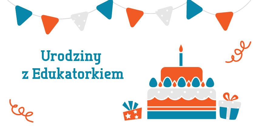Urodziny z Edukatorkiem - baner